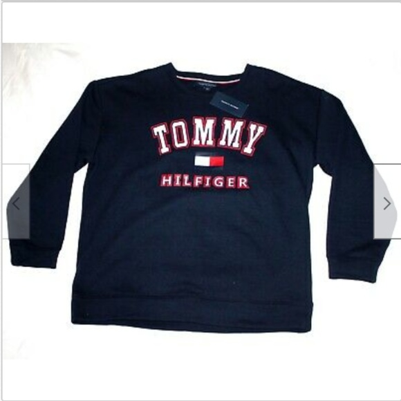 3a763bf7 Tommy Hilfiger Shirts | Unisex Long Sleeve Crew Neck Pullov | Poshmark